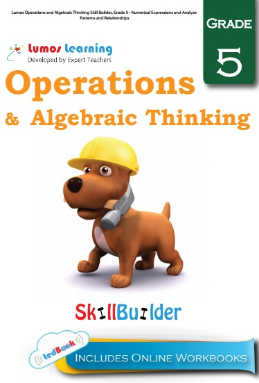 operation and algebraic thinking grade 5